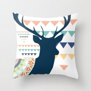 Wild at heart - throw pillow