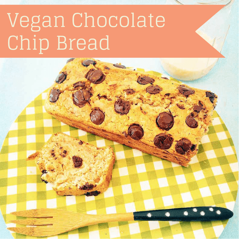 Vegan Chocolate Chip Bread