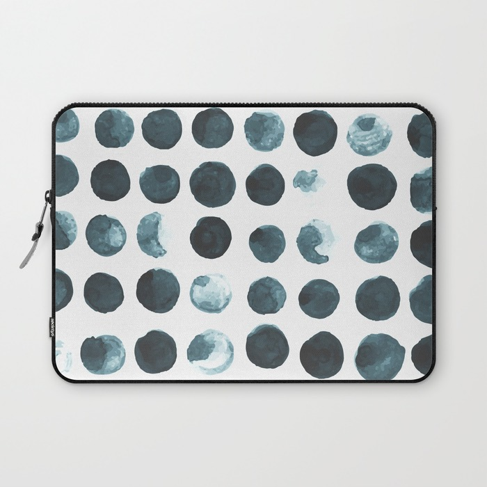 Faded dots Laptop minimalist sleeve