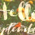Hello September! free smartphone wallpaper