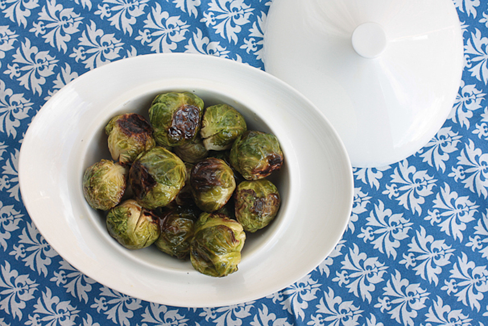 Roasted Brussels Sprouts with Lime and Chili by One Green Planet | Photo Credit: One Green Planet