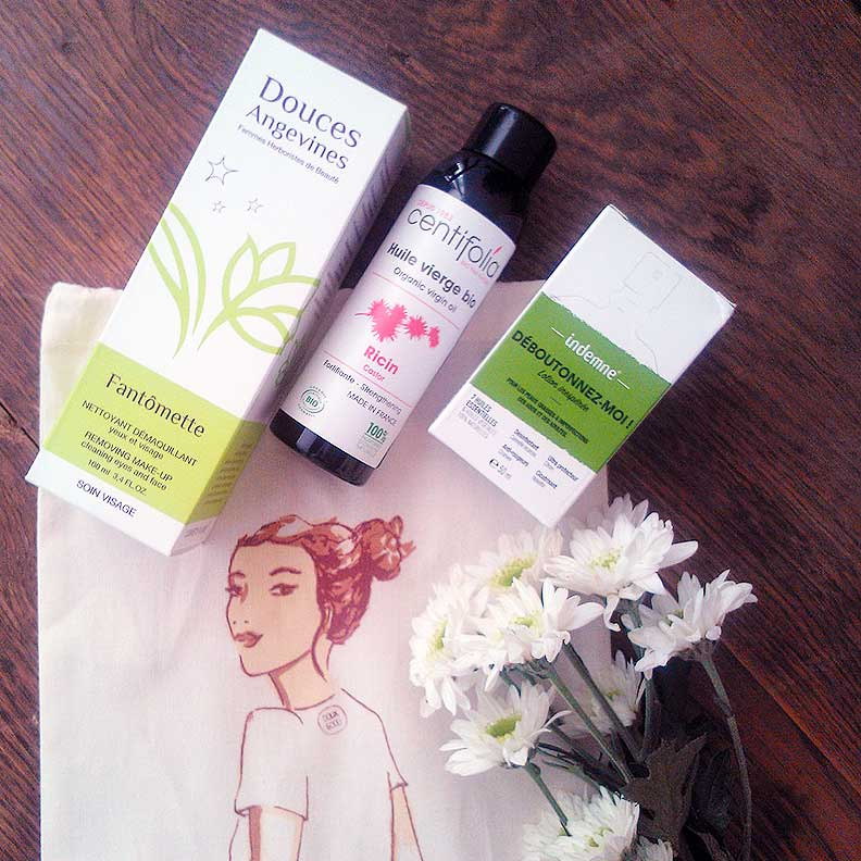 A little beauty haul from Doux-Good: skincare oils