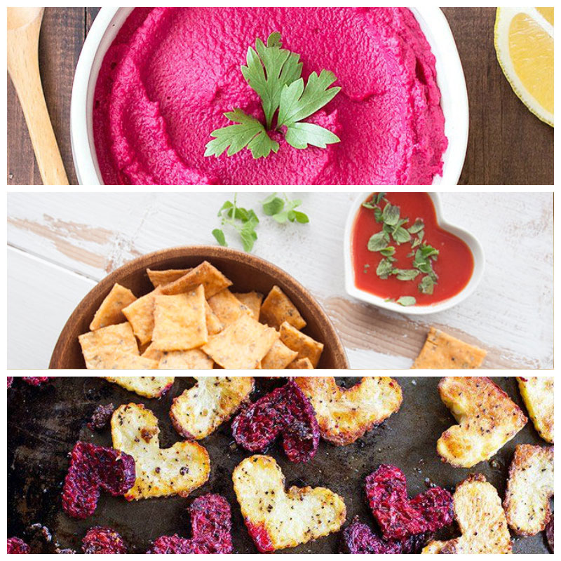 Vegan Valentine's Recipe roundup appetizers