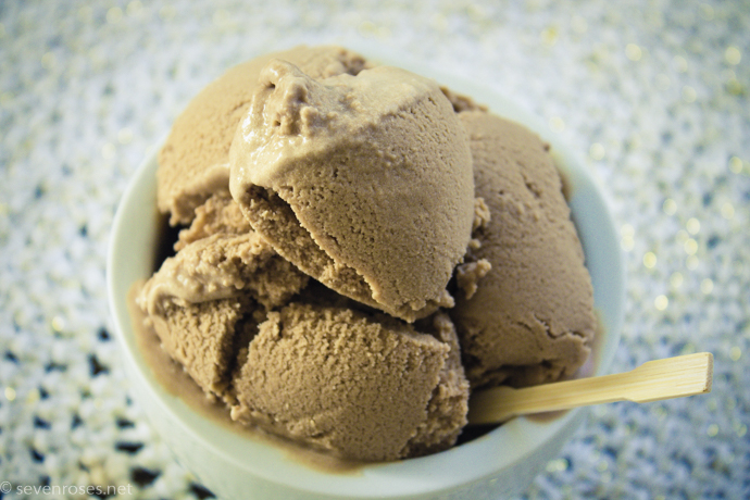 creamy and rich Vegan coffee ice cream