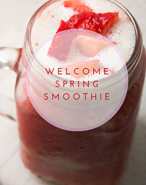 Welcome Spring smoothie