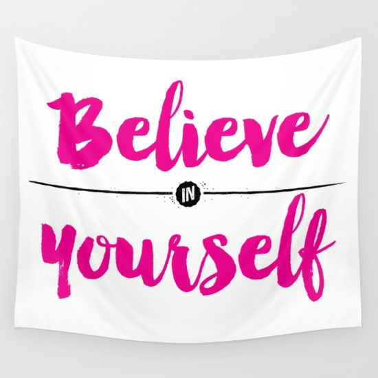 believe-in-yourself-calligraphy-tapestries