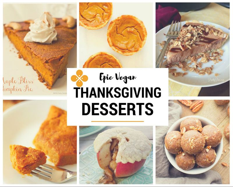 Epic Vegan Thanksgiving desserts