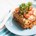 easy vegan lasagna at sevenroses.net