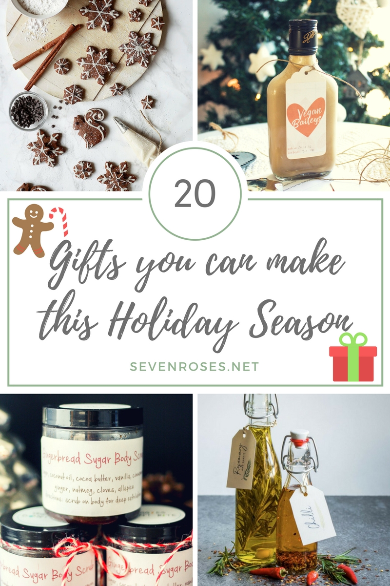 Gifts You can Make This Holiday Season