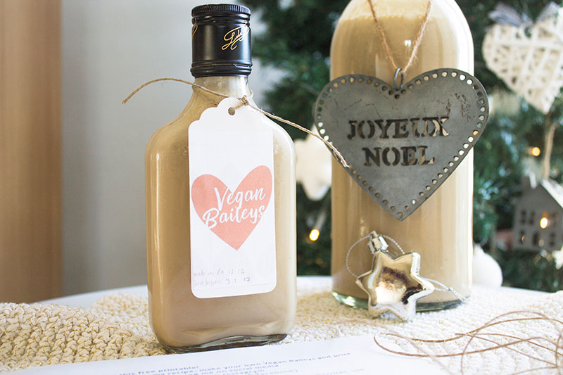 Last minute gift idea: homemade Vegan Irish Cream Baileys