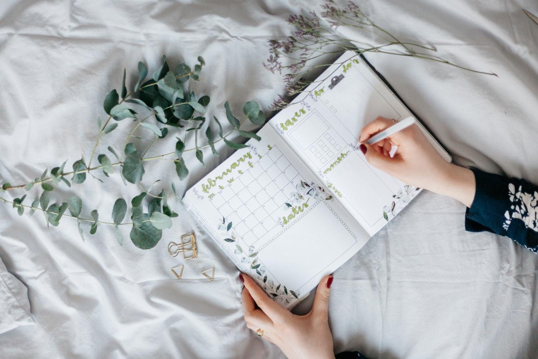 Use a planner / organizer