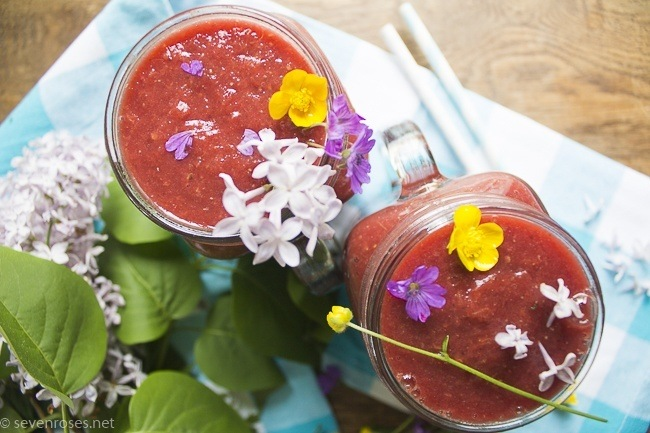 Ruby red antioxidant smoothie