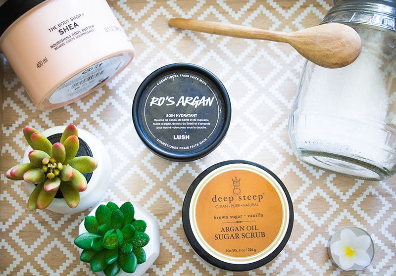 Spring pamper routine: body care