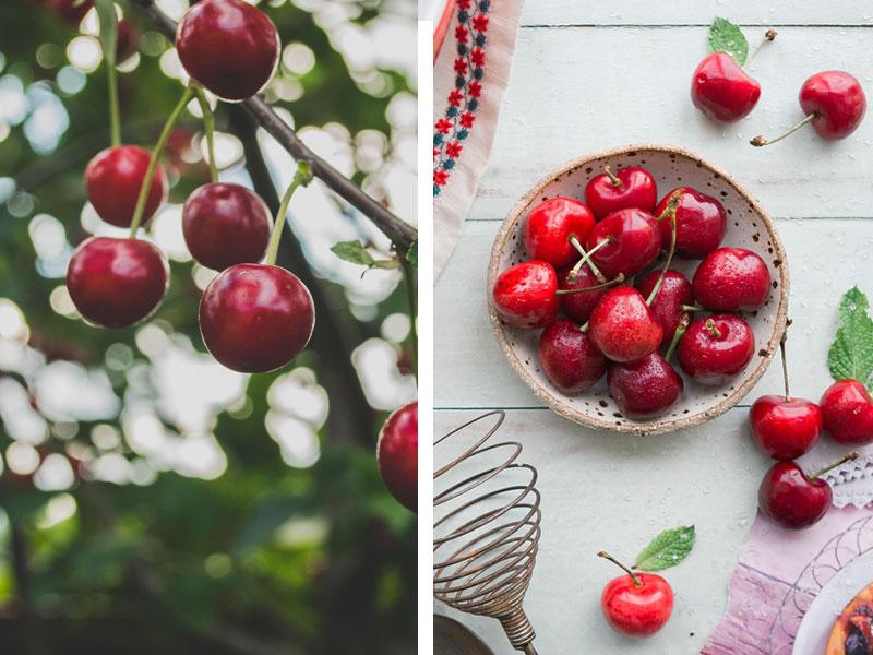 Vegan Cherry Clafoutis