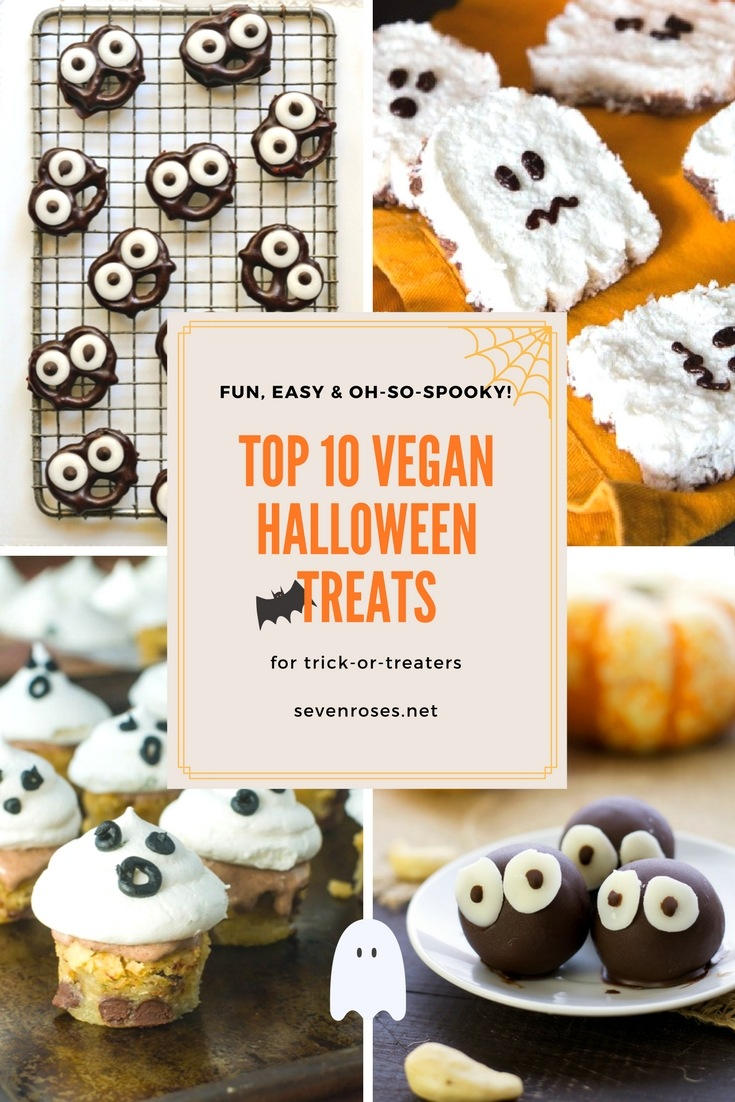 Find cute Halloween treats perfect for parties, including homemade Halloween candy, mini cakes, bars, treats on a stick and more goodies.
