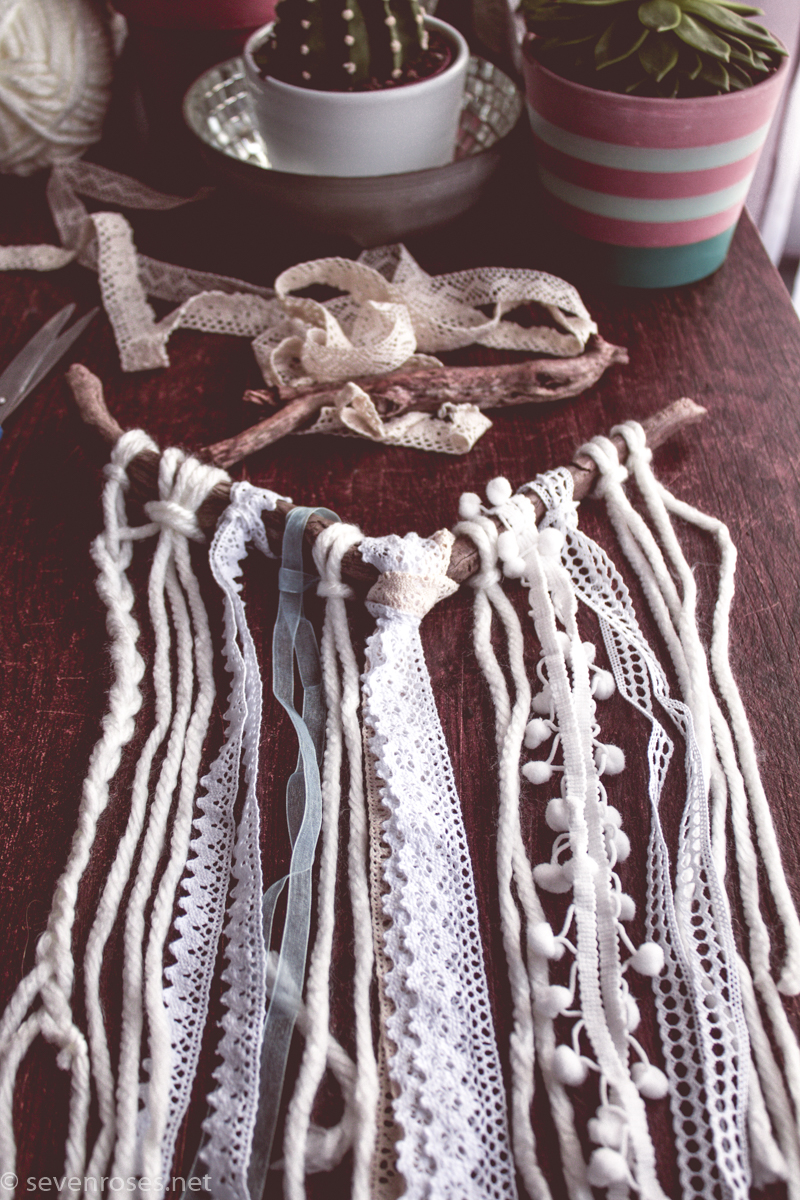 DIY Boho wall hanging ♥ super easy and fast
