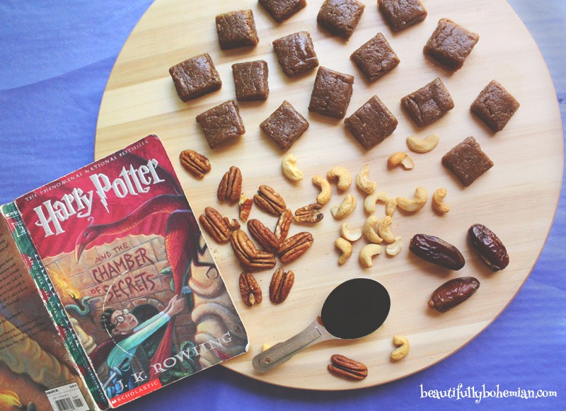 Harry Potter Healthy Vegan Treacle Fudge