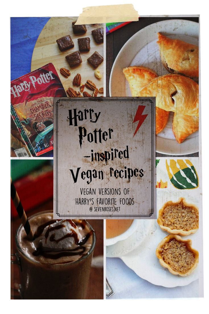 Vegan Harry Potter recipes
