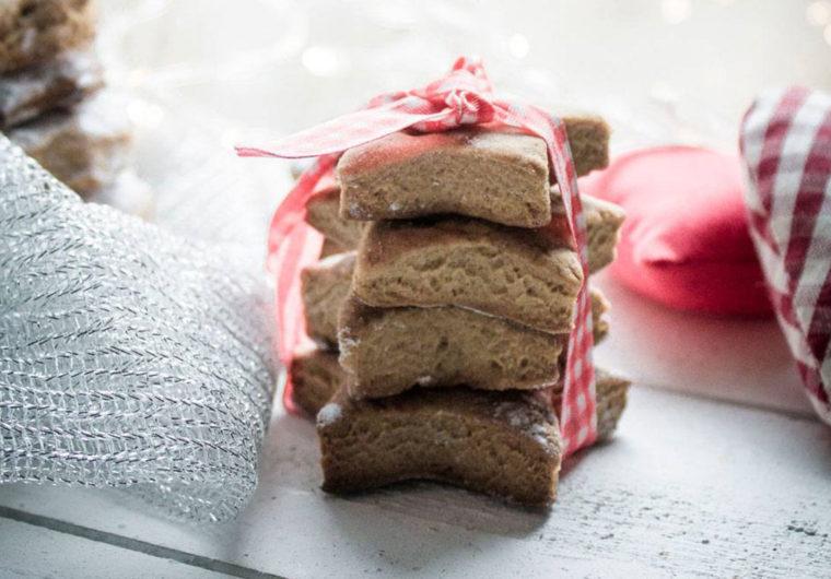 Rustic Vegan christmas cookies