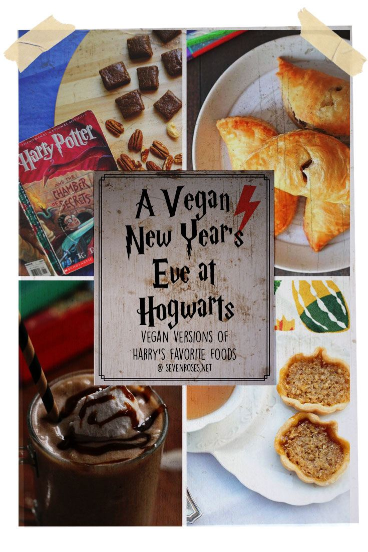A Vegan New Year's Eve at Hogwarts