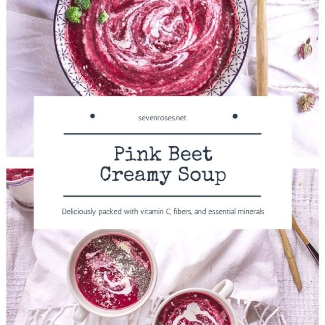 Pink Beet Creamy Soup ♥