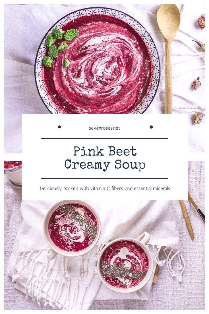 Pink Beet Creamy Soup ♥