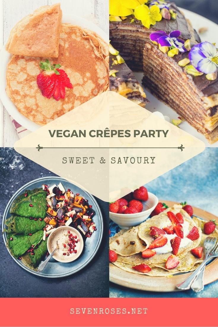 Vegan Crêpes party