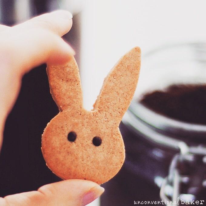 Cinnamon Bunny Cookies