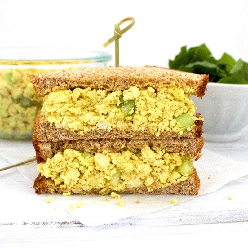 Vegan Egg Salad (Low-Carb, Gluten-Free, Oil-Free!)