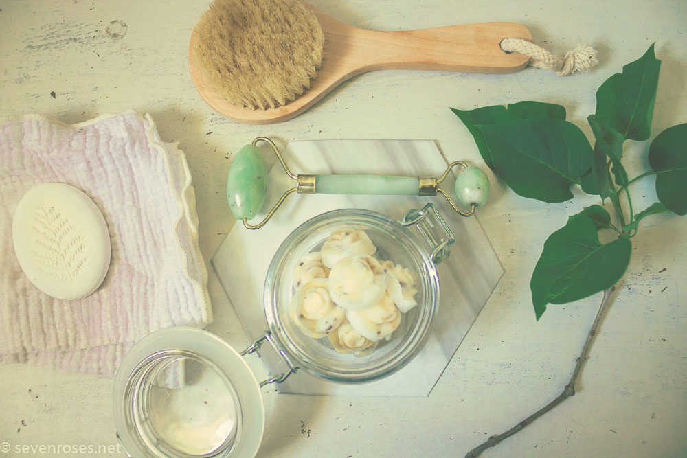 DIY: Skin-loving coconut body lotion bars