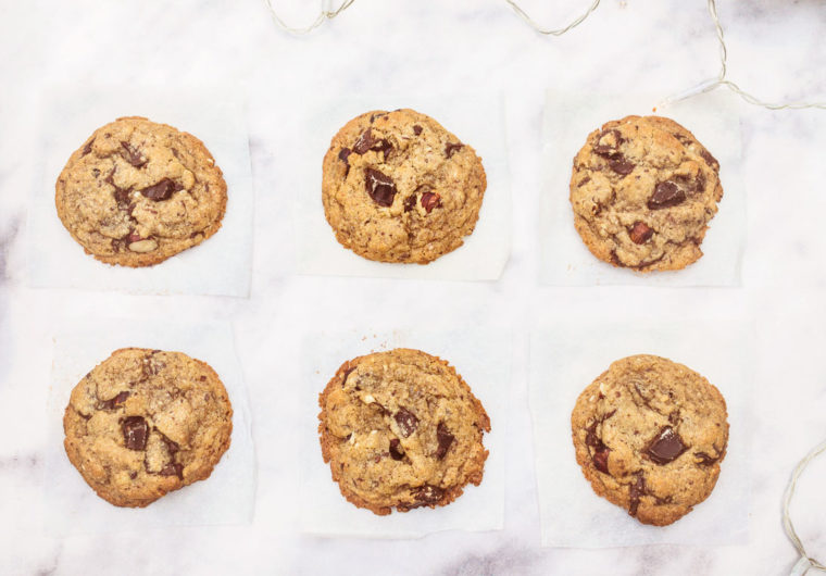The ultimate Chocolate-chip Cookies