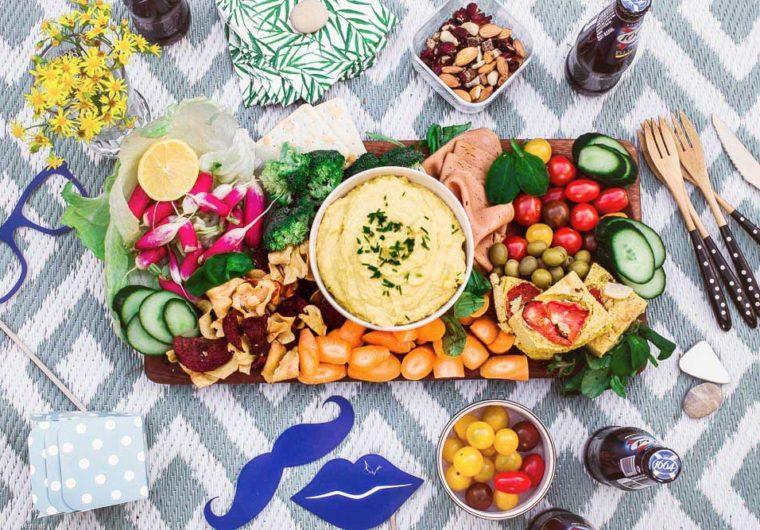 How to make a Vegan antipasto platter