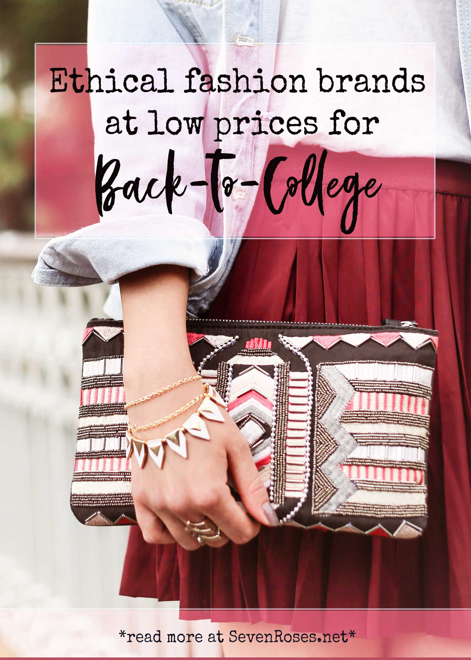 Ethical fashion brands at low prices for back to college