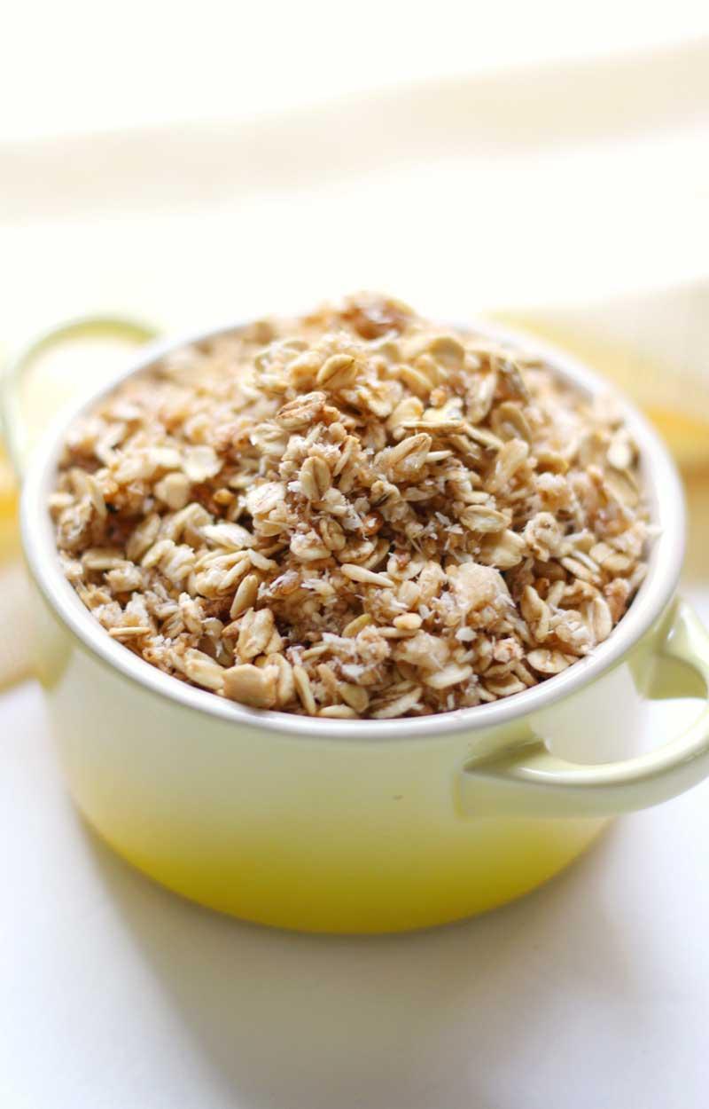 Slow Cooker Vanilla Coconut Granola