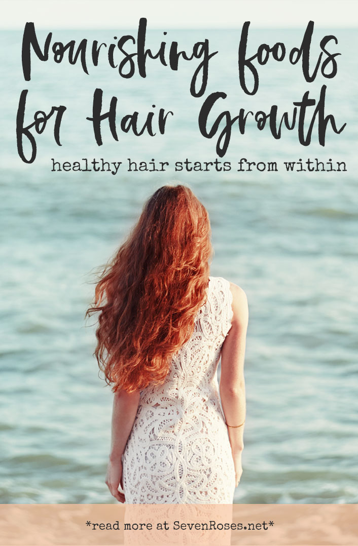 Nourishing Vegan foods for hair growth