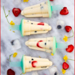 Vegan fruity popsicles