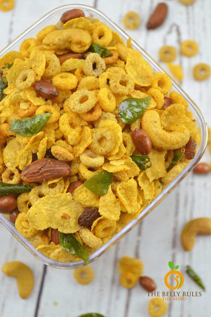 CEREAL CHIVDA (SAVORY TRAIL MIX) VEGAN