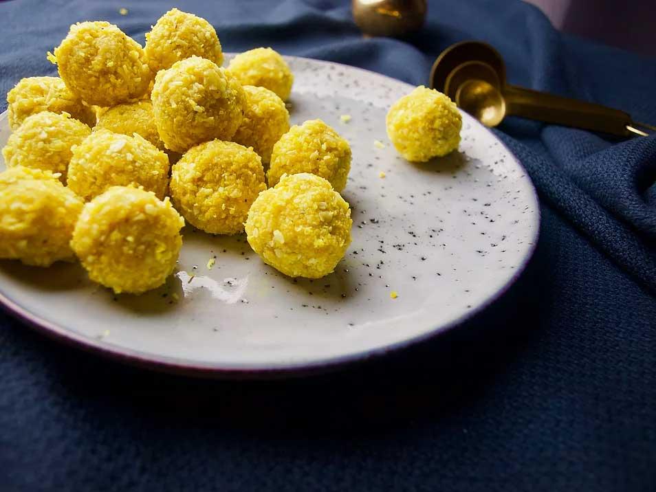 Turmeric Coconut Balls