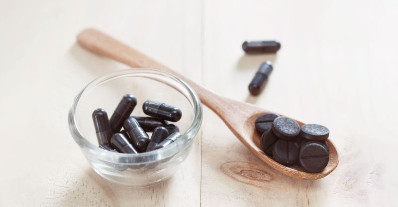 Top 5 health uses of activated charcoal