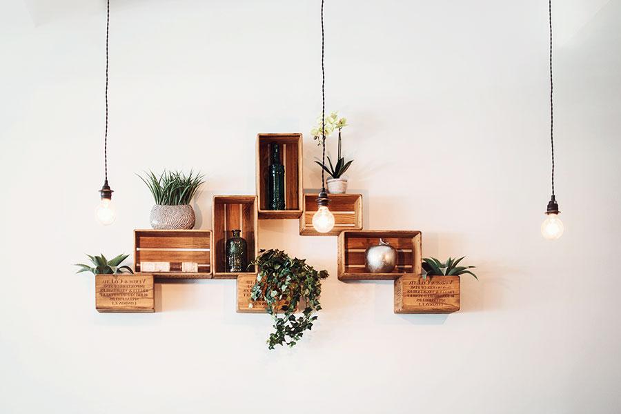 tiny house decor tips: Materials