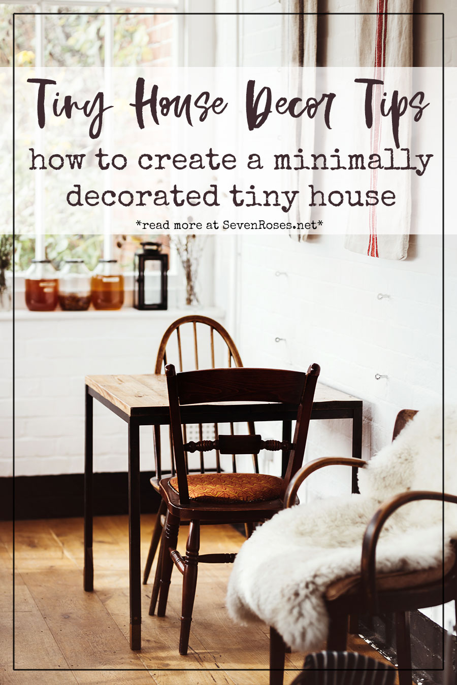 tiny house decor tips