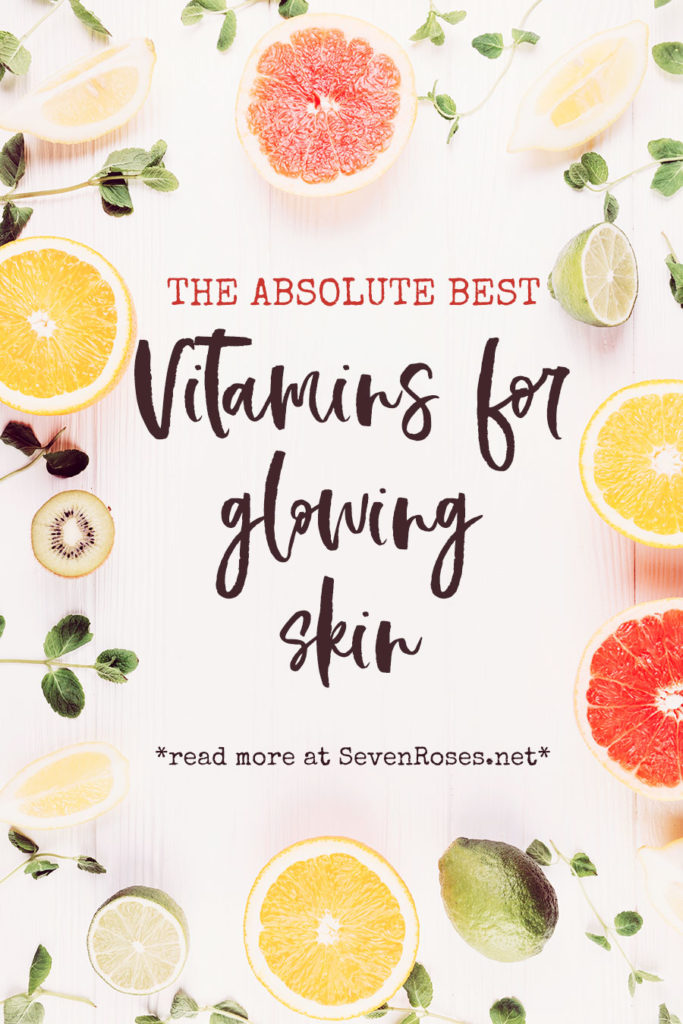 Vitamins for glowing skin