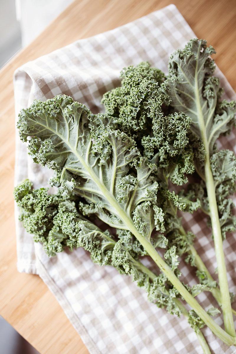 Vegan staples: Leafy greens