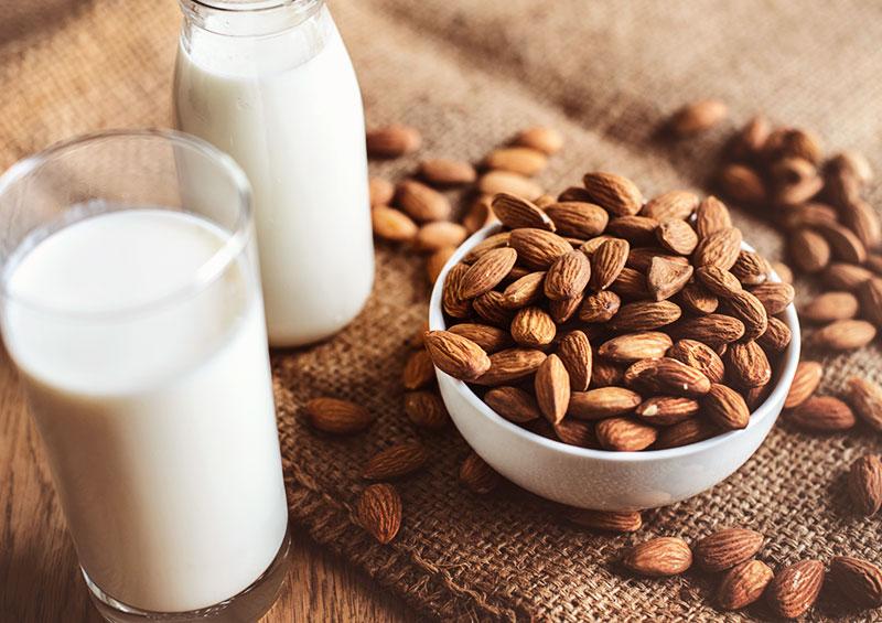 Vegan staples: Almond Milk
