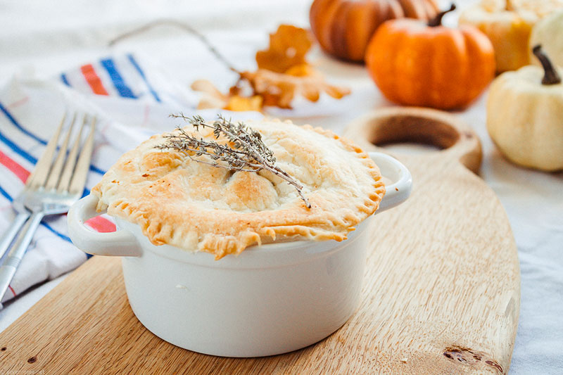 Fall Vegetable Pot Pies