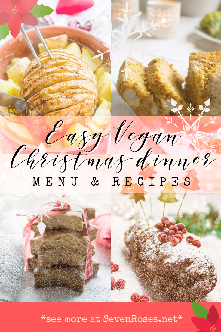 Easy Vegan Christmas dinner menu and recipes