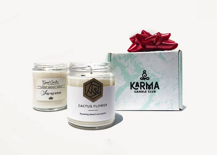 Cruelty Free Subscription Boxes: Karma Candle Club