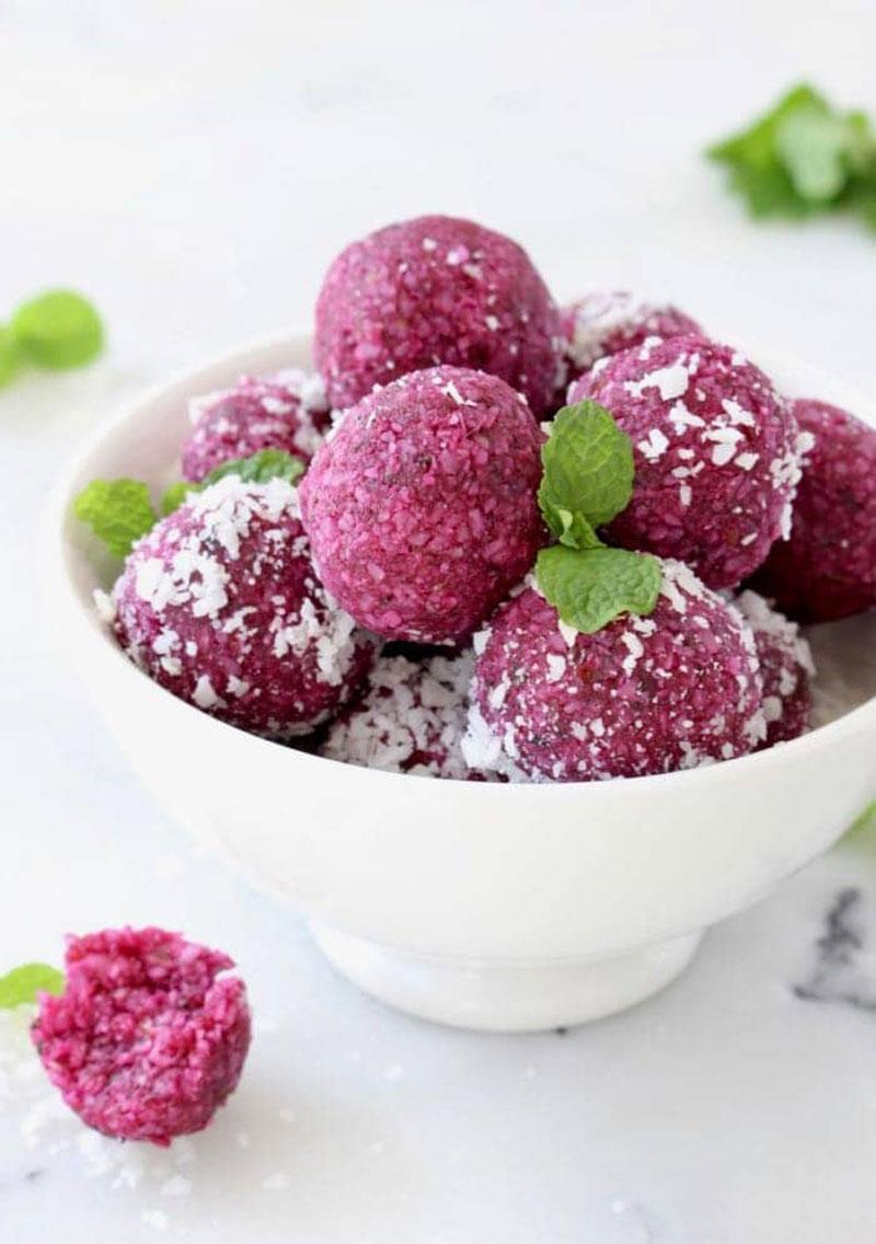 Vegan Coconut Date Balls