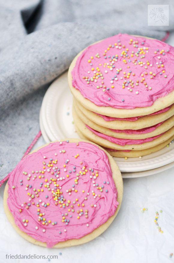 Classic Vegan Sugar Cookies