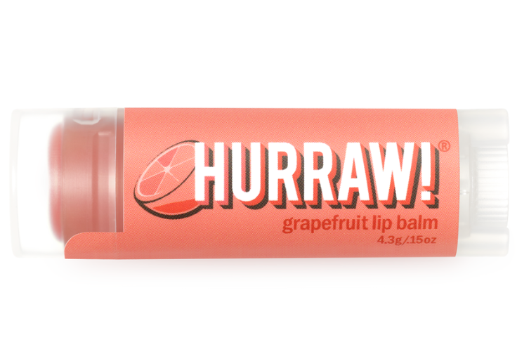 Hurraw! Grapefruit Coral Lip Balm